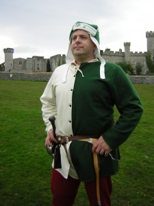 14th Century Doublet and Hat