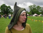15th Century Ladies Open Hood