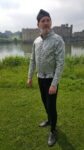 Silk brocade doublet £195